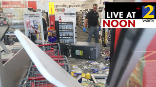 Thieves crash van into Midtown CVS, try to steal ATM, police say
