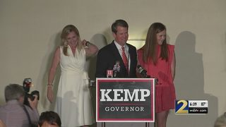 Brian Kemp briefly talks about lawsuit claiming he failed to repay $500K