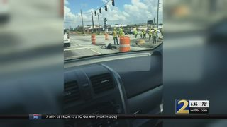 Road project behind schedule in Cobb County