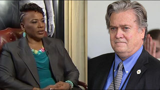 Bernice King responds to Steve Bannon