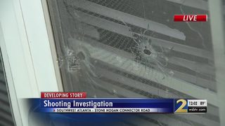 Shooter fires nearly 20 bullets into home, police say