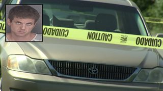 Suspect in custody after body found in trunk of abandoned car