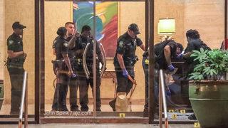 Couple ambushed outside downtown Atlanta high-rise condo