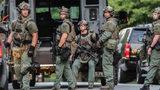 SWAT standoff at Marietta house