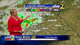 Chance for storms increases this afternoon