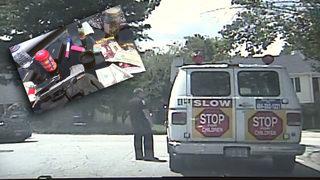 Drugs, loaded gun found inside ice cream truck, police say