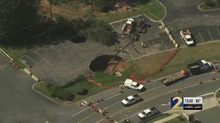 More crews called in to help repair two sinkholes in Gwinnett County