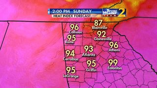 Heat, humidity make for 'dangerous