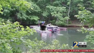 Authorities are cracking down on illegal dumping along Lake Lanier