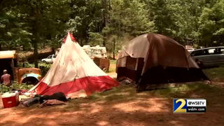 Thousands gather in the woods for Rainbow Gathering