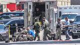 Bomb squad outside the Georgia State Capitol