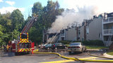 Apartment fire in DeKalb County