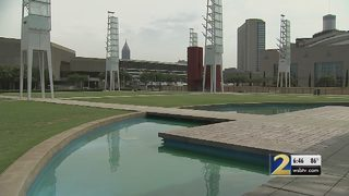 Preparations are underway at the new site for Georgia Salutes America