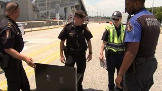 Law enforcement agencies join forces to keep thousands safe during Fourth