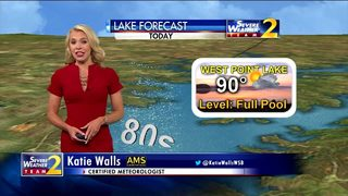 Lake Forecast: Temps soar into 90s, few showers possible