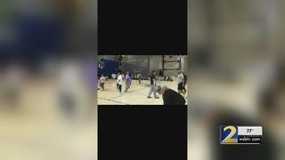 Coach defends players seen on camera fighting with referee at tournamet