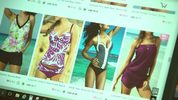 Online shopping for bathing suits on LinkShe.com