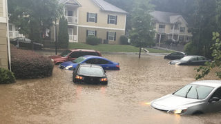 Cleanup underway after flash flooding at Clayton County apartment complex