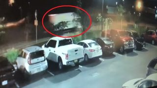 Video shows thieves stealing trucks with $120,000 worth of landscaping equipment inside