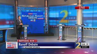 Final preparations underway for Republican gubernatorial runoff debate