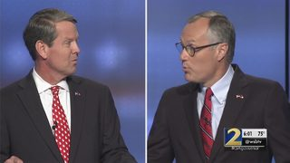 Two remaining GOP candidates face off in tense debate