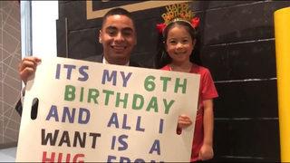 Atlanta United star makes a young fan