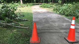 Storms leave trail of damage at metro Atlanta park