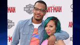 T.I. and Tameka 'Tiny' Cottle-Harris arrive at the Los Angeles Premiere of Marvel Studios 'Ant-Man' at Dolby Theatre on June 29, 2015 in Hollywood, California. (Photo by Jason Merritt/Getty Images)