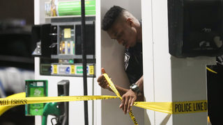 Police investigating shooting that ended at gas station