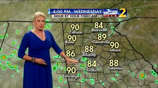Mostly dry Wednesday morning ahead