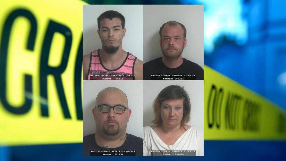 4 banned from county, sentenced to prison after violent home