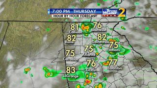 Widespread showers, storms could impact Thursday commute