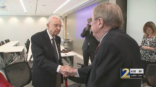 World War II veteran honored with special medal
