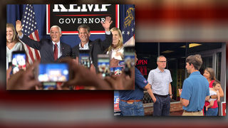 GOP gubernatorial candidates give final push ahead of Tuesday