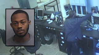 Police: Man tried using baseball to break into metro Atlanta bank