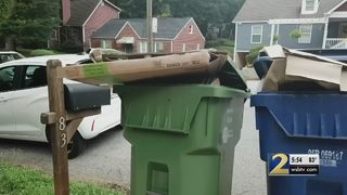 Residents say new trash schedule has led to collection delays