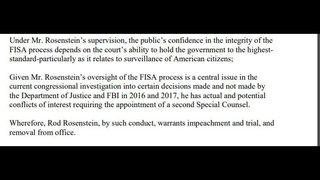 House conservatives unveil impeachment resolution against