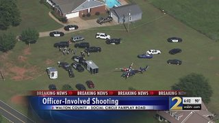 GBI investigating deputy-involved shooting in Walton County