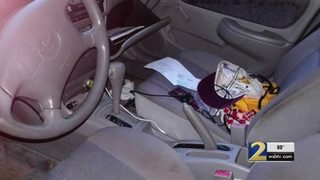 Thieves caught on camera breaking into multiple cars in DeKalb County