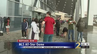 Soccer fans flock into downtown Atlanta for MLS All-Star game