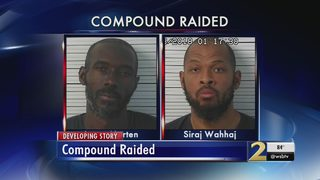 Clayton County men arrested in New Mexico compound raid; women, 11 children found starving