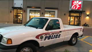 Police: Shooting victim ran into Chick-fil-A to ask for help