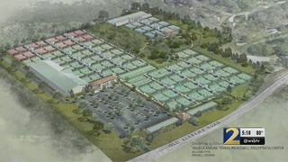 Opponents come out to oppose construction of huge tennis facility