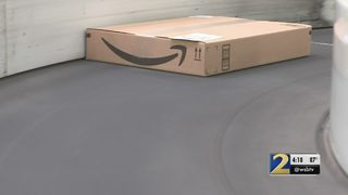 Gov. Deal on-hand for new Amazon facility in Georgia