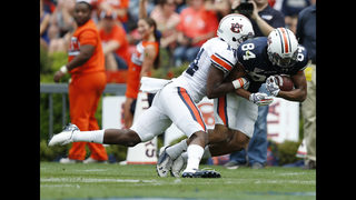 Former Auburn WR arrested, accused of robbing Chinese restaurant at gunpoint