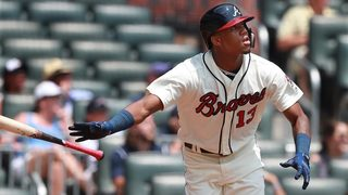 Ronald Acuña Jr. homers to lead off both games of Braves