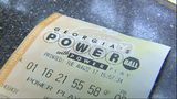 Georgia Powerball ticket.