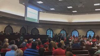 Residents show up at City Hall to oppose $50M tennis facility after project stalls