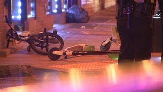 Rental scooters used in shooting that left 21-year-old in critical condition, police say