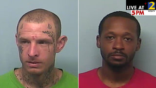 Inmates climbed down from a drain pipe, haven